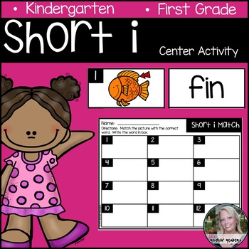 Short i Literacy Center Activity