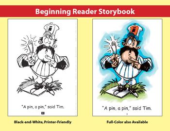 Short i Little Book: Beginning Reader Storybook