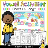 Short 'i' & Long 'i' Games and Activities