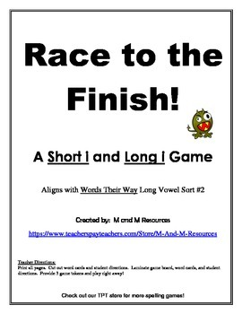 Short i Long i  Race to the Finish Game