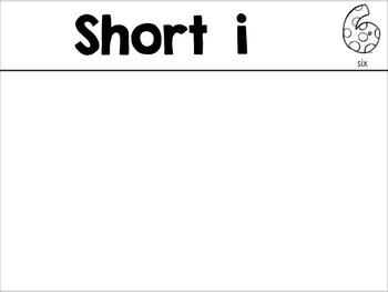 Short i Long i Word Sort