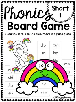Short i PHONICS BOARD Game
