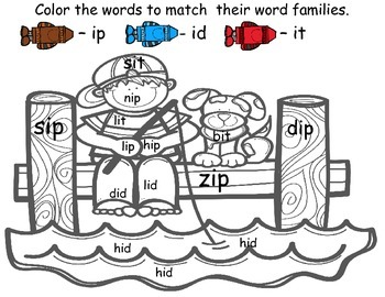 Short i Phonics Pack