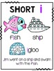 Short i Phonics Passage and Word Work