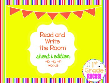 Short i Read and Write the Room