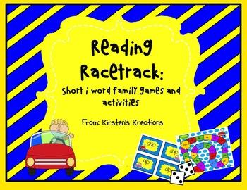 Short i Reading Racetrack