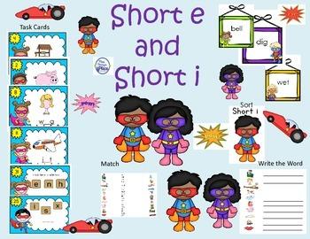 Short i - Short e