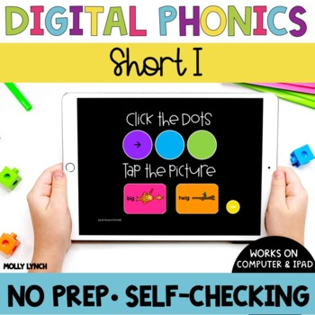 Short i Sound Tappers - Digital Phonics Learning {PowerPoint Games}