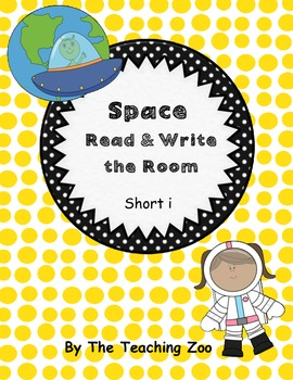 Short i Space Read & Write the Room {Real & Nonsense!}