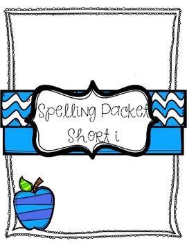 Short i Vowel Spelling Packet