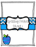 Short i Vowel Spelling Packet