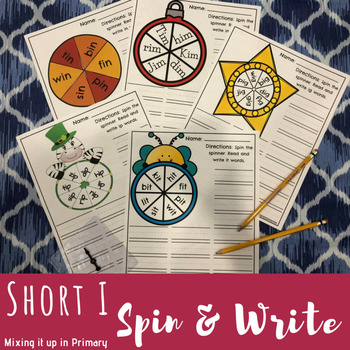 Short i - Spin and Write