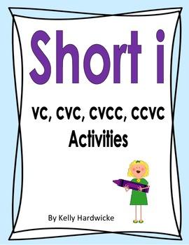 Short i Vowel Activities