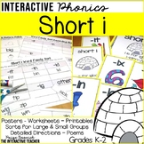 Short i Word Work Activities-Sorts and Worksheets