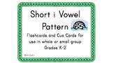 Short i Vowel Pattern Cards