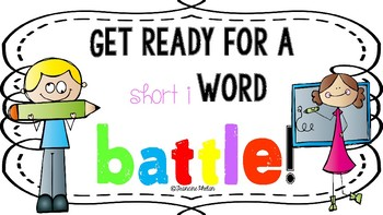 Short i Word Battle