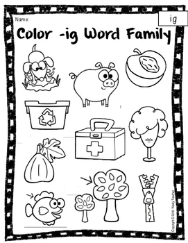 Short i Word Families