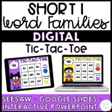 Short i Word Families Distance Learning Activities {Seesaw