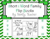 Short i Word Families Flip Books