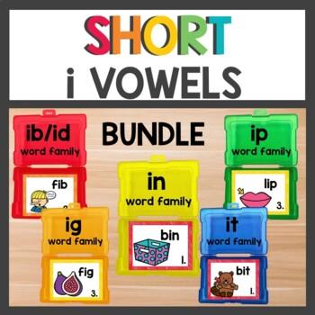 Short i Word Work Bundle