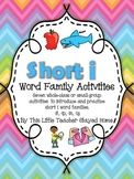 Short i Word Family Activities
