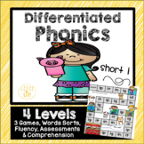 Short i Phonics Game and Word Sort