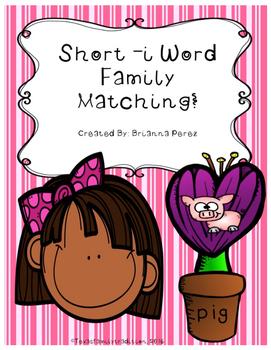 Short -i Word Family Matching