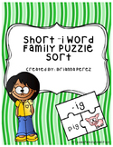 Short -i Word Family Puzzle Sort