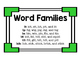 Short i Word Family Puzzles