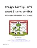 Short i Word Family Sorting Mats