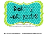 "Short ""i"" Word Puzzles"