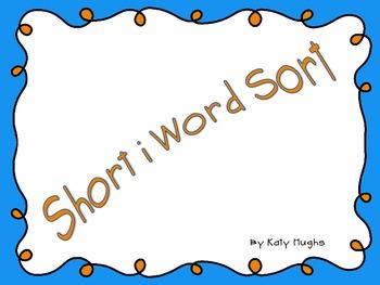 Short i Word Sort