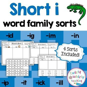 Short i Word Sorts