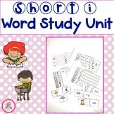Short i Word Study Unit
