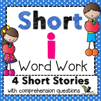 Short i Word Work