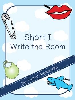"""Short i """"Write the Room"""" Activity"""