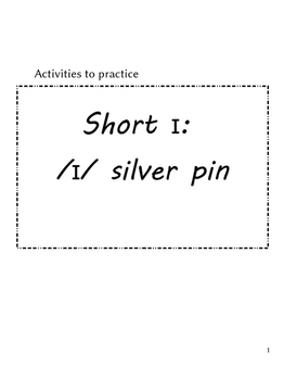 Short i activities for ESL pronunciation