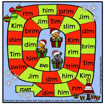 Short i - im Word Family Activities