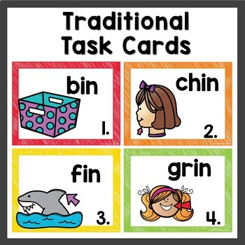 in Word Family Phonics Pack