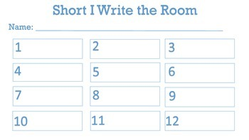 Short i write the room