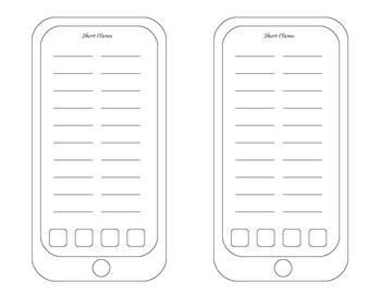 Short iPad Template