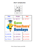 Short multiplication lesson plans, worksheets and more