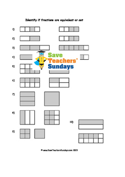 Equivalent Fractions Lesson Plans, Worksheets and More