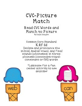 CVC-Picture Match Up