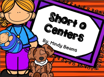Short o Activities - Interactive Book Included!