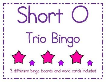 Short o Bingo