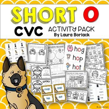 Short o CVC ~ Activity Pack