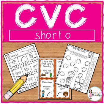 Short o CVC Centers & Activities
