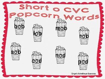 Short o CVC Popcorn Lotto Game