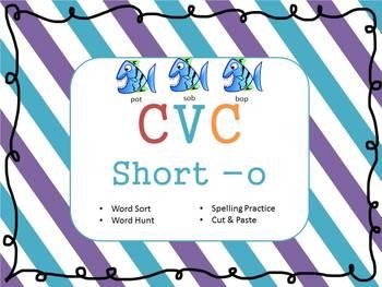 Short -o CVC Practice Sheets